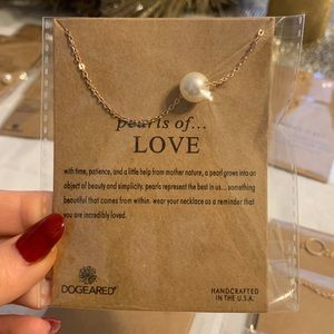 Inspirational Necklace - Pearls of Love